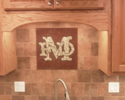 Murray Fire Department Backsplash